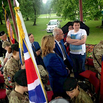 armed forces day drumhead service spennymoor town band. Black Bedroom Furniture Sets. Home Design Ideas